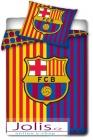 Ložní povlečení FC Barcelona 140x200/70x80cm. SKLADEM POUZE 1 KUS.