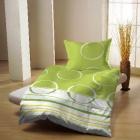 Povlečení bavlna Viktorie zelená