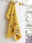 Dětská froté osuška  - medvídek Pú s výšivkou