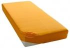 Krepové povlečení Liana oranžová