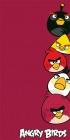 **Osuška Angry Birds red